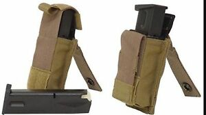 NEW-Special-Forces-Eagle-Ind-Molle-Single-15-Round-Pistol-Kydex-Magazine-Pouch
