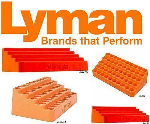 LYMAN 7728086 BLEACHER LOADING BLOCKS .485 FREE SHIPPING BRAND NEW