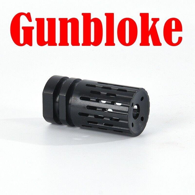 Compensador de freno 9 mm Luger  Bozal 13.5x1 LH Rosca H&K, Sig Sauer, Glock, Beretta  mejor calidad