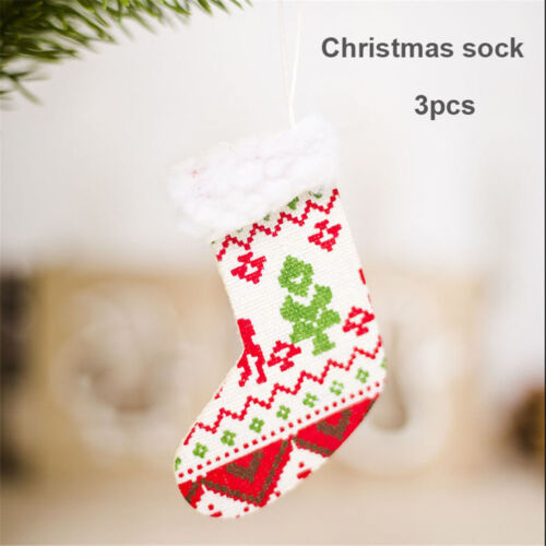 Small Hat Gloves Boots Christmas Tree Pendant Decor Wall Hanging Pendants Gifts.