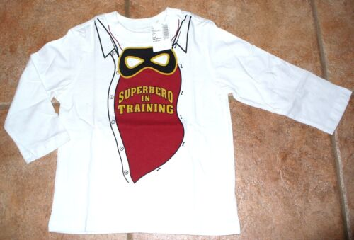 NEW The Children/'s Place 18-24 months 2T Super Hero In Training Shirt