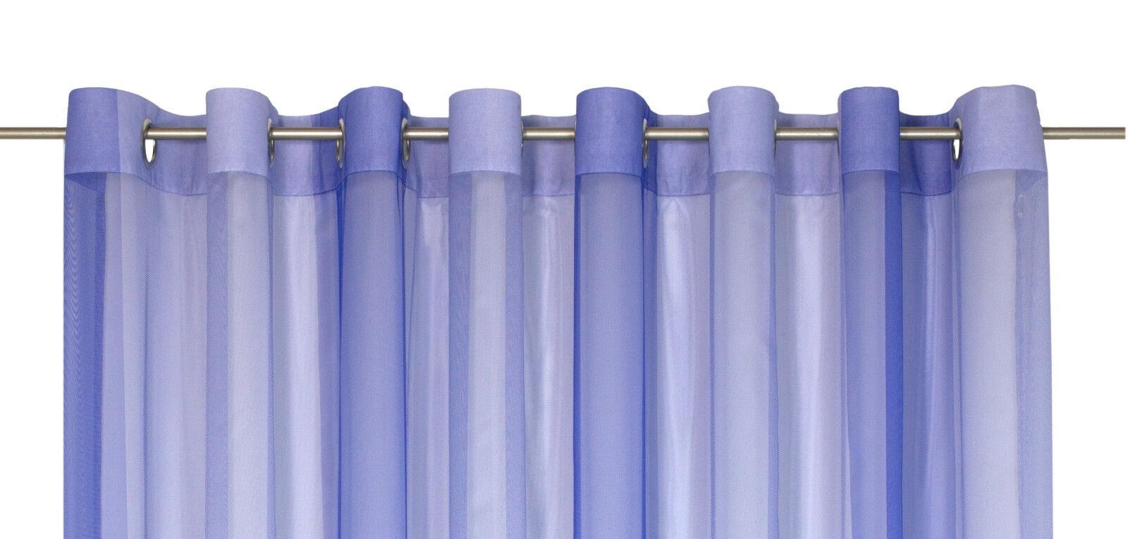 Fertigstore mit Ösen Zita 8027 halbtransparent Farbe Farbe Farbe 80 blau   20 Größen | Spielzeugwelt, spielen Sie Ihre eigene Welt  bd0990