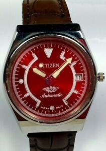 Vintage-Citizen-Mechanical-Automatic-Movement-Date-Dial-Mens-Wrist-Watch-U226