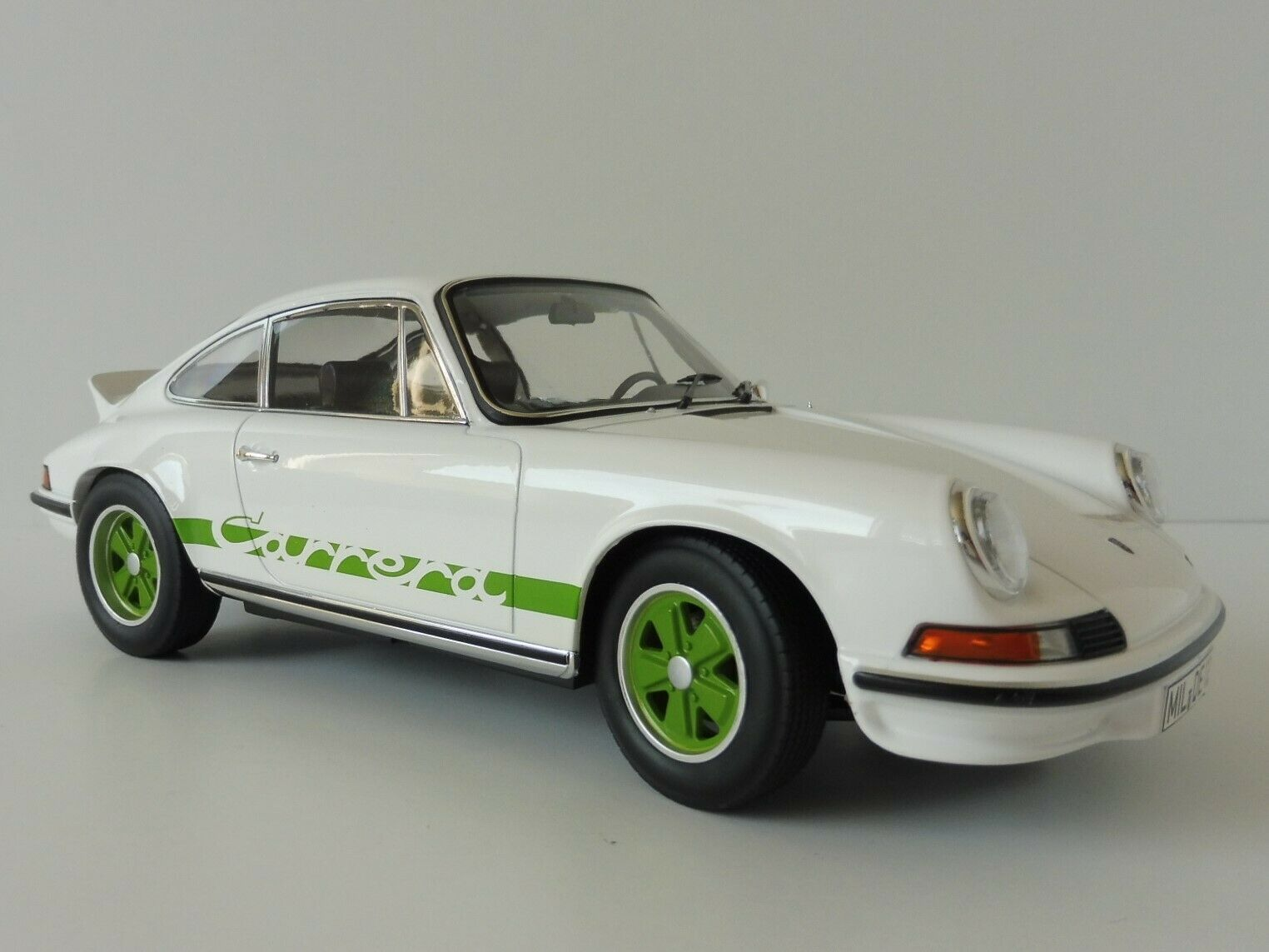 Porsche 911 Carrera Pedales Rs Touring 1973 1 18 Norev 187636 biancao 1963