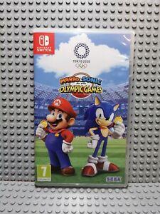 Mario Y Sonic En Los Juegos Olímpicos De Tokio 2020 Nintendo Switch Juego Ebay