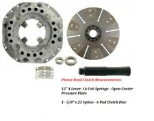 12 Clutch Kit Ford Tractor 5000 5100 5200 5600 5700 6600 6700