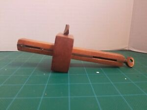 Antique Scribe Marking Gauge Gage Woodworking Tool Brass Wood Pat Oct 22 72 Ebay