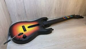Guitar Hero Sunburst Wireless Controller For PS2 Red Octane No Strap NO DONGLE
