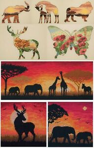 Maia-Collection-Anchor-Counted-Cross-Stitch-Kit-Animal-Silhouettes