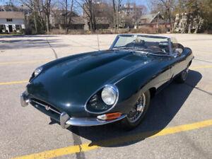 1968 Jaguar E-Type Roadster Series 1.5 BRG