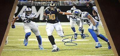 Autographs-original Good Todd Gurley Los Angeles Rams Hand Signed 11x14 Autographed Photo W/coa Proof