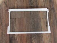 Glasplatte Einlegeboden Glasboden für Kühlschrank Bauknecht,Hanseatic,Privileg