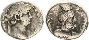 Prix Pas Cher Billon Tetradrachme 63/64 Antique/romain Kaiserzeit/nero (3) S-ss-afficher Le Titre D'origine