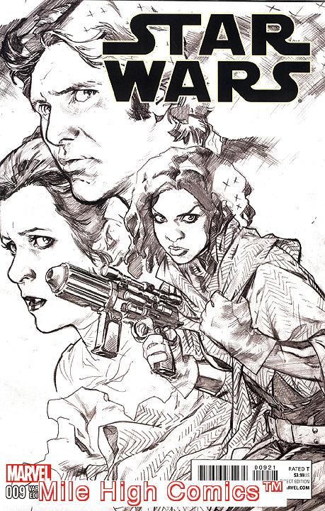 STAR WARS  (2015 Series)  (MARVEL) #9 SKETCH CV Near Mint Comics Book