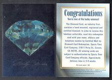 MARILYN MONROE SERIES 1 (SportsTime/1993) CHROMIUM DIAMOND REDEMPTION CARD