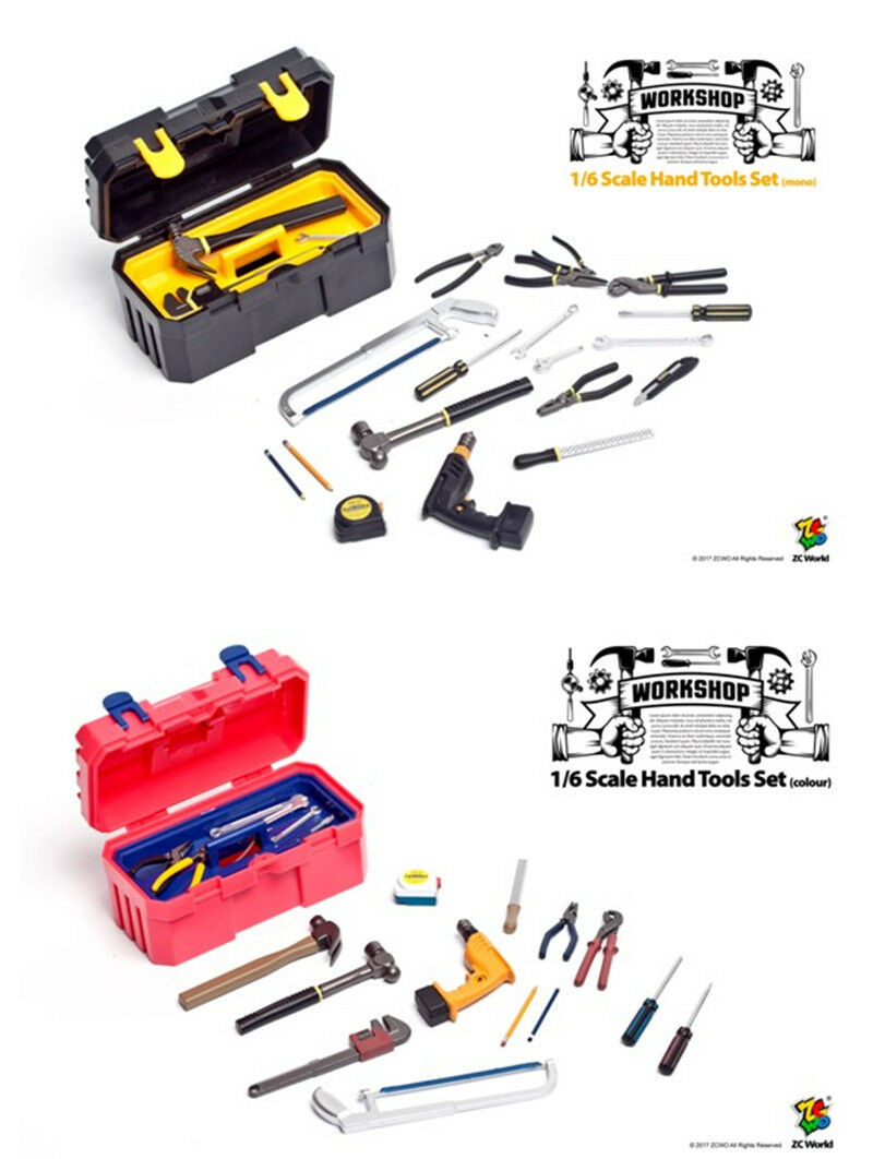 HOT FIGURE TOYS ZCWO 1 6 Hand tool suit