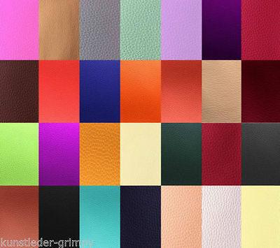 Kunstleder Streifen aus 28 Farben wählbar 8 x 70 cm z.B. für Hundehalsbänder usw