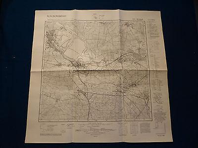 GroßZüGig Landkarte Meßtischblatt 4451 Jessen Im Kreis Spremberg, Welzow, Blunan, 1945