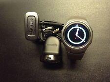 Samsung - Gear S2 Smartwatch 42mm Stainless Steel - Dark Gray SM-R720