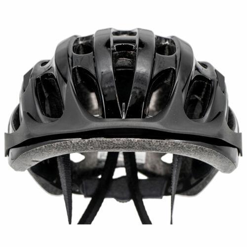 Airtracks Bike Helmet Star K-60 Black in Mold Shell with Trackrad S//M L//XL