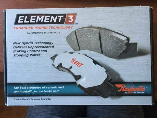 Disc Brake Pad Set-Element3 Hybrid Technology Rear Raybestos EHT537H