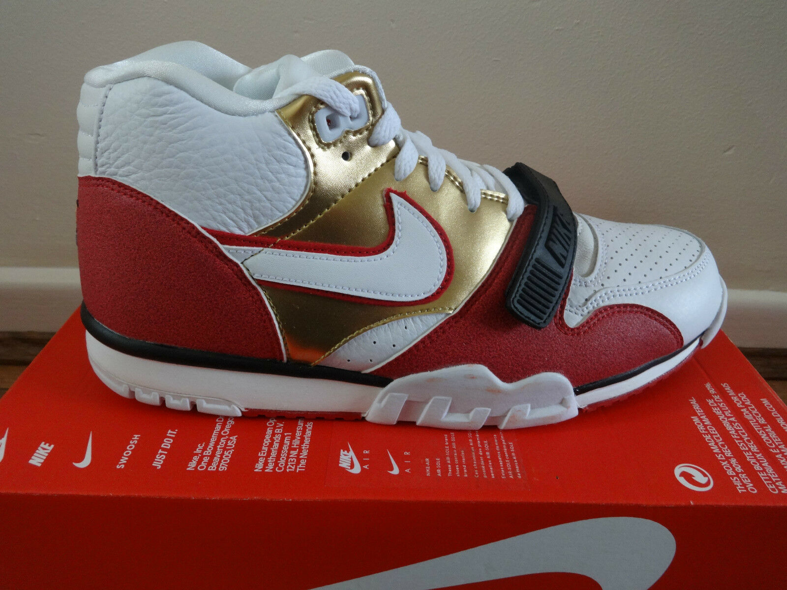 Nike Air Trainer 1 Mid PRM QS homme  trainers chaussures Baskets 607081 101  chaussures trainers 825ff8
