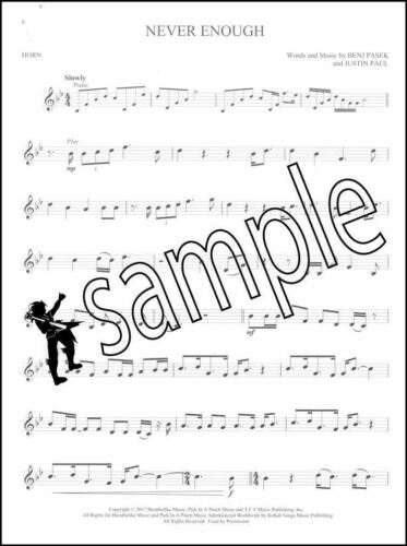 The Greatest Showman for Horn Instrumental Play-Along Sheet Music Book//Audio