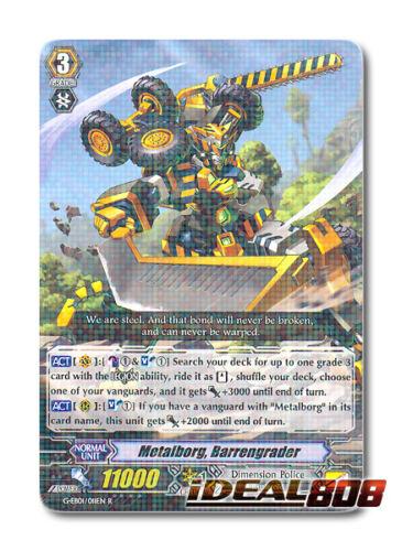 Barrengrader Cardfight Vanguard  x 4 Metalborg R Pack Fresh Mi G-EB01//011EN