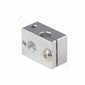 3x-Upgrade-V6-Hotend-heater-block-for-PT100-thermocouple-f-3D-Printer-Extruder