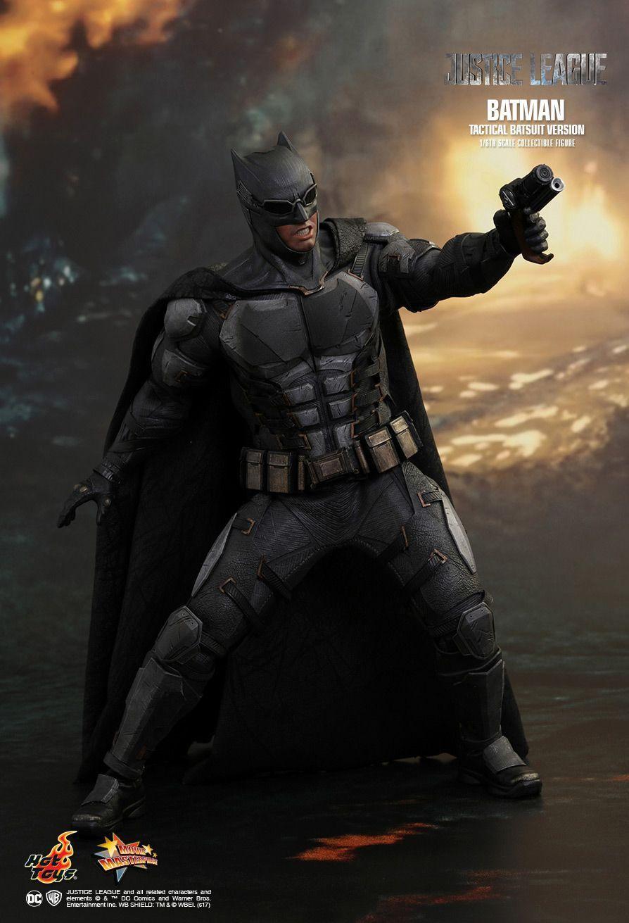 1 6 HOT TOYS MMS432 DC Liga De La Justicia Batman figura de versión Táctico Armado Nuevo