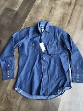 360bdcf819 item 3 Wrangler - Rigid Denim Shirt - 16 1 2 X 35 - Pearl Snap Buttons -  Blue - 70127MW -Wrangler - Rigid Denim Shirt - 16 1 2 X 35 - Pearl Snap  Buttons ...
