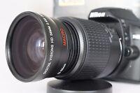 Macro Wide Angle Semi Fisheye Lens for Nikon Digital dslr d5500 d3300 d50 d40 52