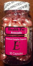 Health Pro Avocado Vitamin E Skin Oil Moisture Complex - 90 Capsules