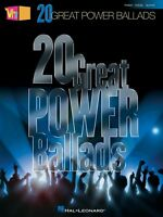 Vh1's 20 Great Power Ballads Sheet Music Piano Vocal Guitar Songbook N 000311778