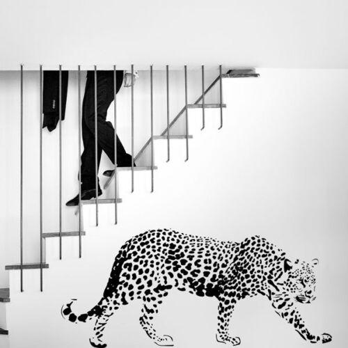 Leopard Wild Cat Animal large 135cm Vinyl Wall Art Sticker Home Bedroom Decor