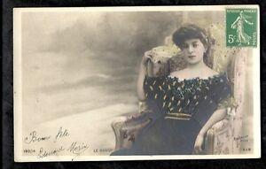 Cartolina-Foto-Reutlinger-Colorata-il-Gipeto-Sip-190-14