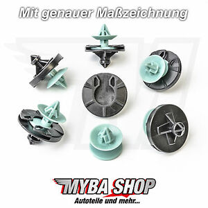 5-x-Interior-Cover-Clip-Fixing-Clip-Clip-for-VW-GOLF-III-3-Variation-NEW