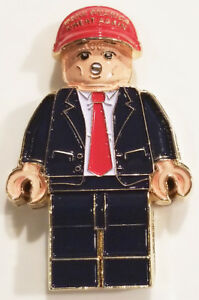 US-President-Donald-Trump-Make-America-Great-Hat-Lego-Challenge-Coin-non-NYPD