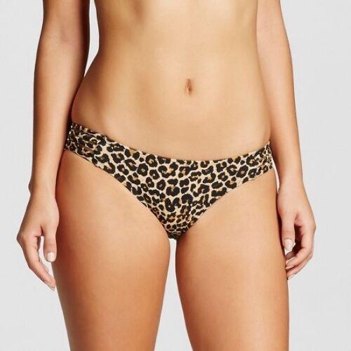 Xhilaration Womens Strappy Hipster Bikini Bottom Animal Print