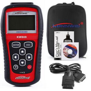 MaxiScan MS509 KW808 OBD2 OBDII EOBD Scanner Car Code Reader Tester Diagnostic!