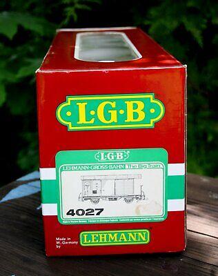 Accurato Lgb 4027 (40270) Scatola Vuota Per Ged. Carri Merci Mob 557 Gk-mostra Il Titolo Originale