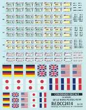 Colorado Decals 1/24 24 HOURS OF LE MANS PLATES 1995-1999
