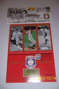 1994-Hall-Of-Fame-INDUCTION-Program-Cachet-NEW-YORK-Yankees-RIZZUTO-Carlton