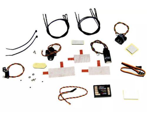 Hitec 55830 Full Telemetry Pack 2.4GHz Plus Bonus Blue 200A Pack /& Navi PC Link
