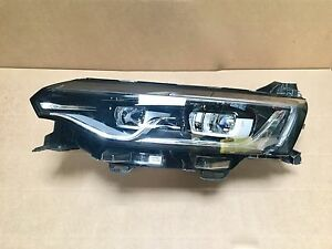 phare avant full led renault talisman cote gauche headlamp left 260606722r ebay. Black Bedroom Furniture Sets. Home Design Ideas