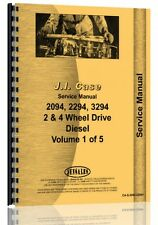 Case 2094 2294 3294 Diesel Tractor Service Manual Ca S 2094 2294