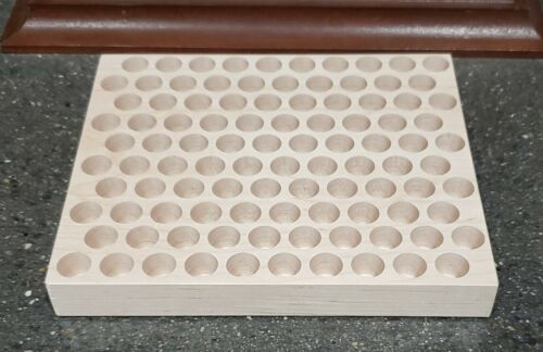 Details about  /500 S/&W RELOADING TRAY-CNC CUT HARD MAPLE