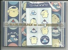 Sanrio Pom Pom Purin Notesheets With Envelopes From Japan