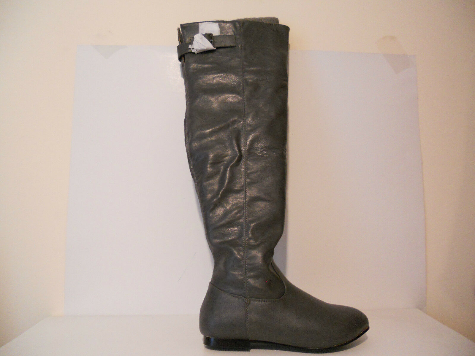 Marichi Mani Womens Roselyn-04 Western/Riding Boots Charcoal Sizes 6.5, 7, 7.5