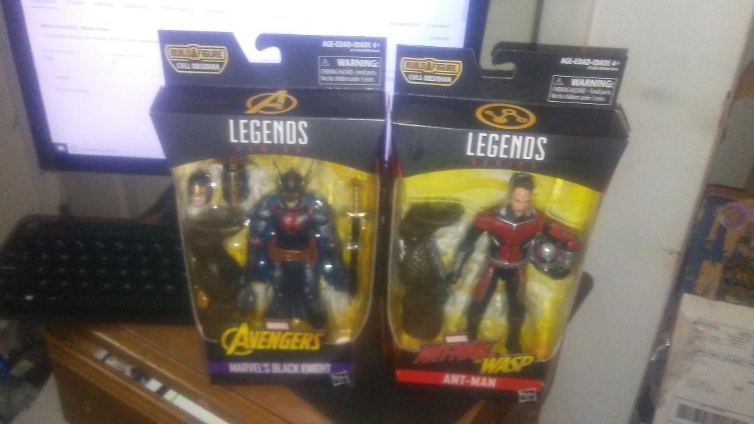 Marvel Legends Avengers Infinity War Wave 2 BAF Cull Obsidian Set